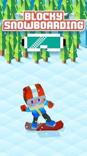 方块单板滑雪游戏下载