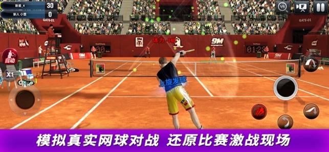 冠军网球ios版手游下载