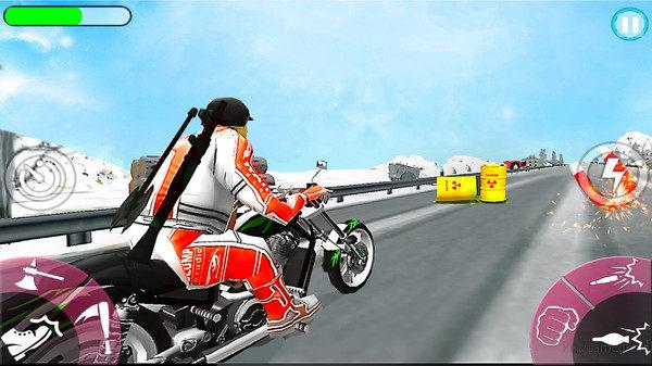 暴力赛车摩托车游戏安卓版下载