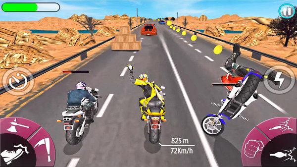 暴力赛车摩托车安卓版游戏最新下载