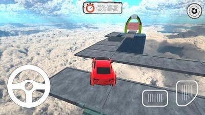 高空特技飞车游戏