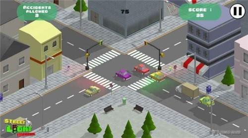 街道交通灯下载