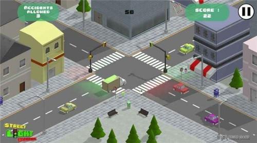 街道交通灯游戏