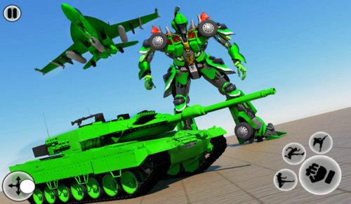 变形坦克机器人破解版