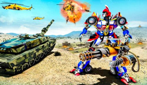 变形坦克机器人破解版下载