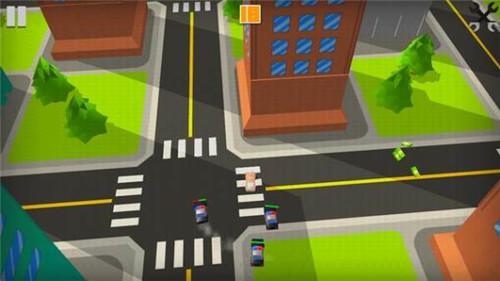 警察漂移3d
