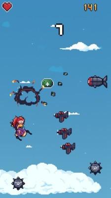 像素女孩飞机游戏安卓版