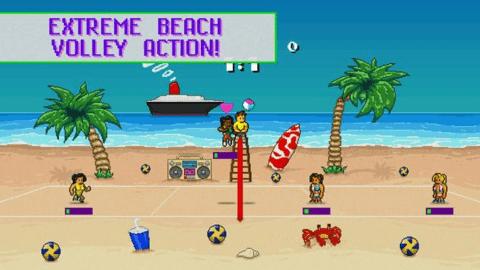 热血沙滩排球手机版下载