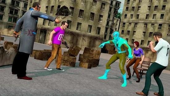 绳蛙英雄蜘蛛的力量手机版下载