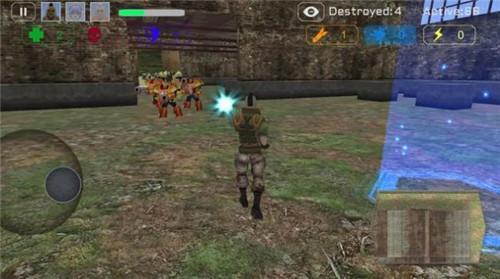 幽灵小队战斗机器人手机版下载