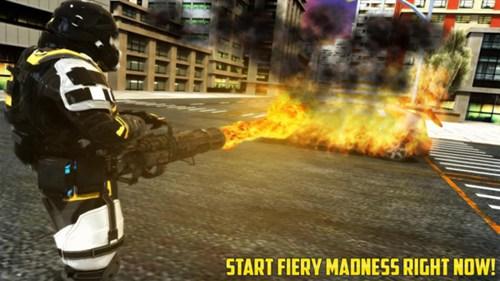 火焰喷射模拟器无限金币版