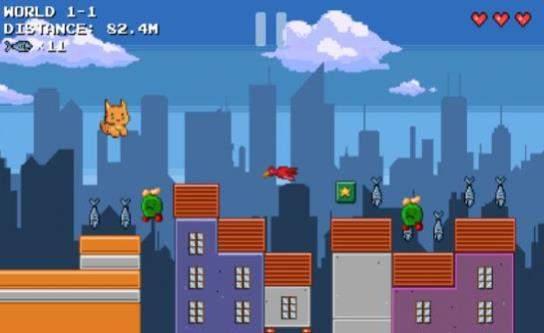 像素猫冒险手机版