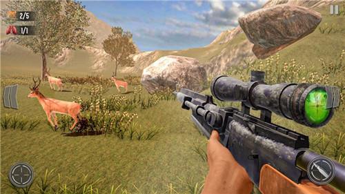 野鹿狩猎丛林射手官方手机版下载