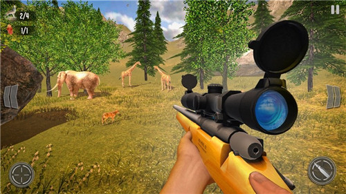 野鹿狩猎丛林射手手机官方版