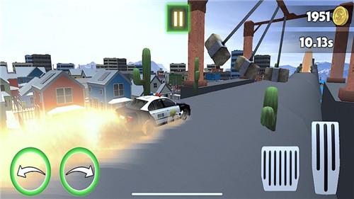警车特技超级斜坡苹果版下载