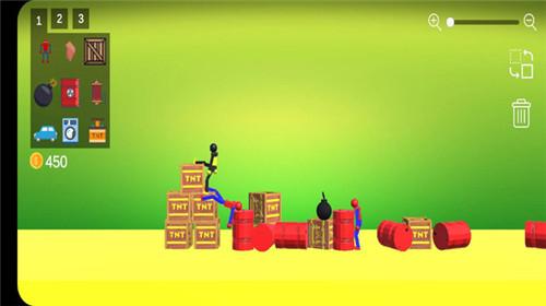 蜘蛛火柴人游戏场手机官方版
