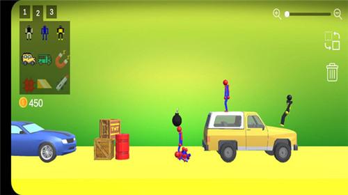 蜘蛛火柴人游戏场手机版