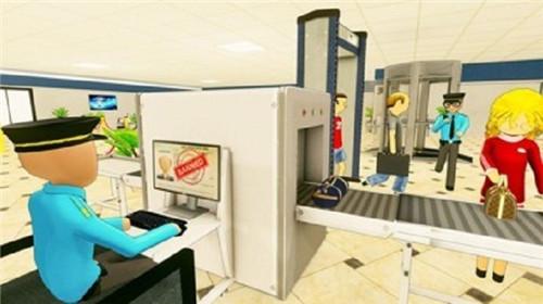 火柴人机场安检游戏下载