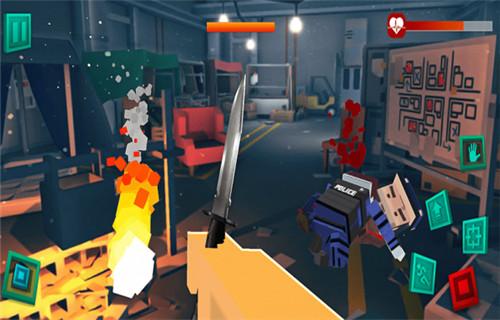 僵尸像素战士3D官方手游