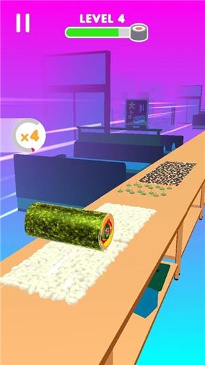 寿司卷游戏破解版