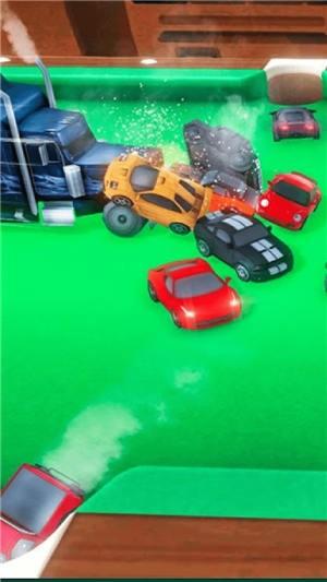 赛车台球游戏