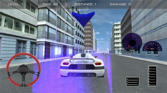 超级跑车泊车模拟器中文版