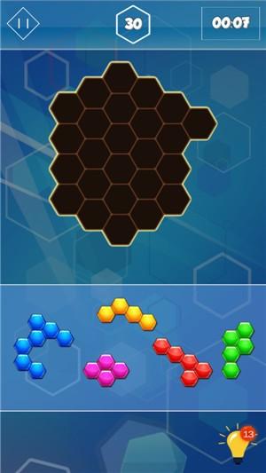 六边形合并挑战手机版下载
