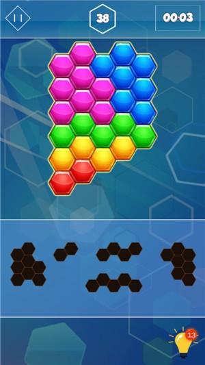 六边形合并挑战手机安卓版下载
