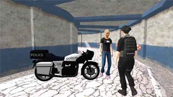 警察自行车驾驶模拟器苹果版