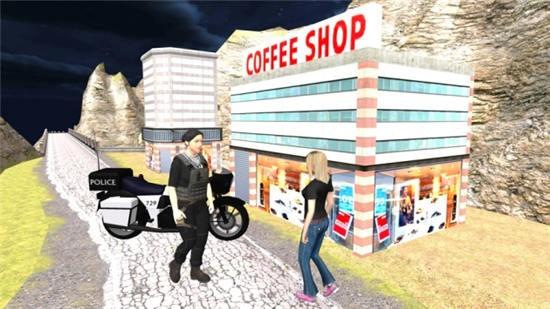 警察自行车驾驶模拟器中文版下载