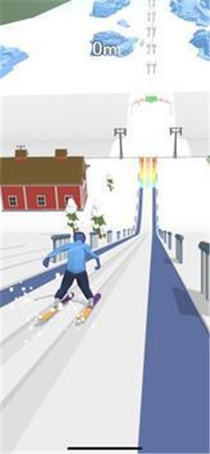 滑雪跳跃3D游戏