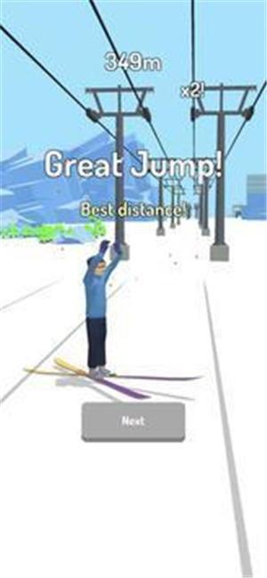 滑雪跳跃3D游戏下载