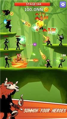泰坦点击英雄无限金币钻石版