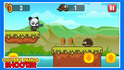 胖乎乎的熊猫射手安卓版