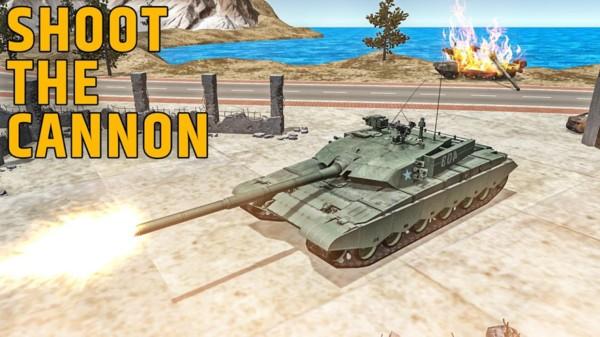 陆战型坦克模拟器手机