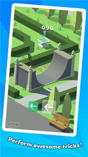 滑板冒险最新中文版