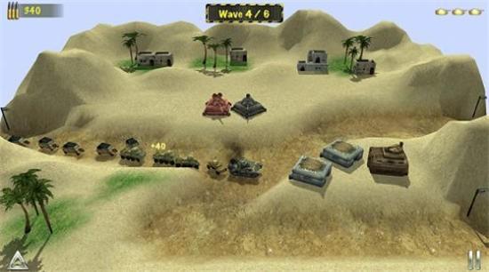 二战之盟军防线游戏