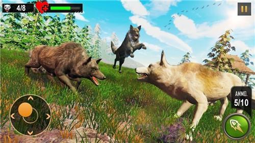 野狼狩猎冒险安卓手机版下载