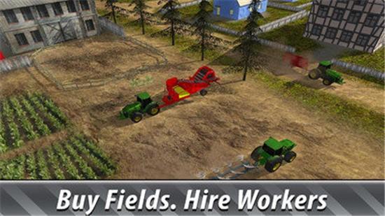体验农场模拟器游戏