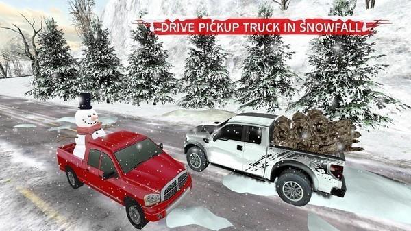 冬季雪卡车3d手游下载