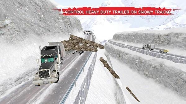 冬季雪卡车3d手机版最新版