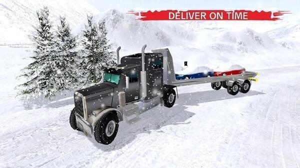 冬季雪卡车3d手机版最新版下载