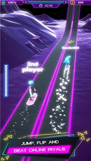 人类霓虹冲浪游戏