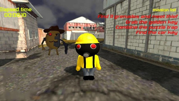 恐怖机器人游戏下载
