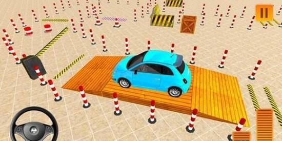 现代汽车驾驶停车场模拟器游戏下载