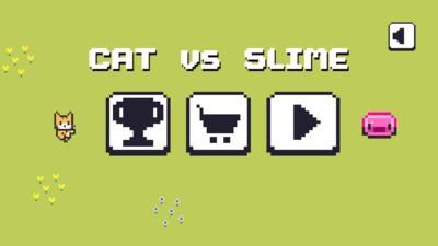 像素猫大战史莱姆官方正式版