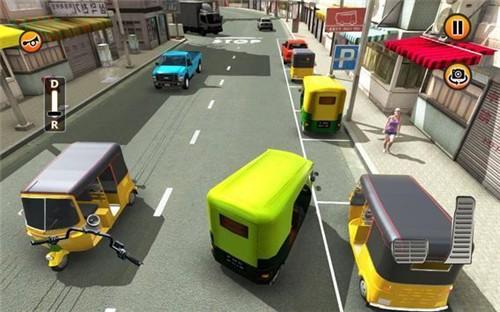 人力车停车模拟中文版