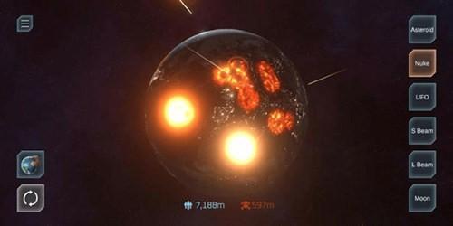 毁灭星球模拟器中文版