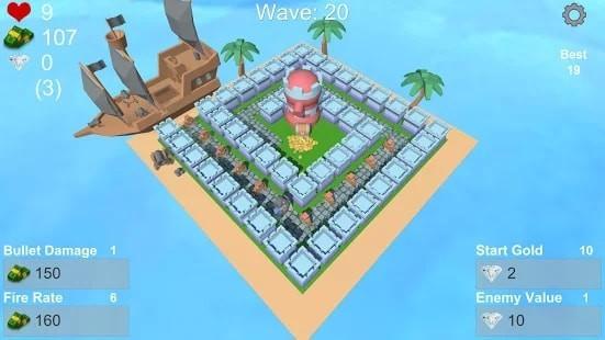 城堡岛TD游戏下载