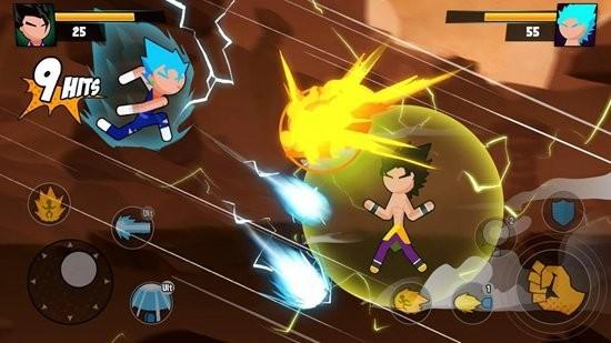 超级龙火柴人战斗无限金币